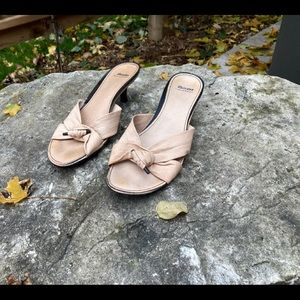 Bata Slip On Knotted Sandals